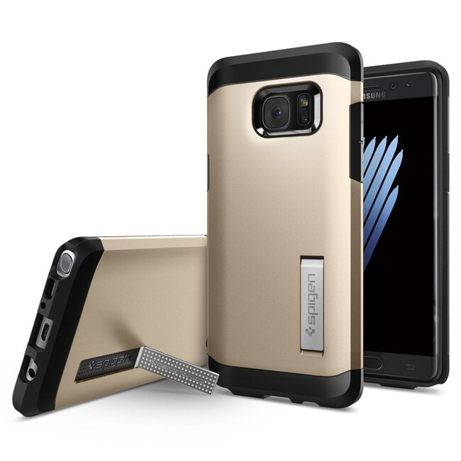 Чехол Spigen Tough Armor Champagne Gold для Samsung Galaxy Note 7