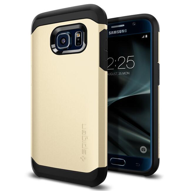 Чехол Spigen Tough Armor Gold для Samsung Galaxy S7