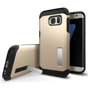 Купить Чехол Spigen Tough Armor Champagne Gold для Samsung Galaxy S7 edge