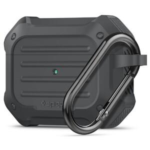 Купить Противоударный чехол Spigen Tough Armor Charcoal для AirPods Pro
