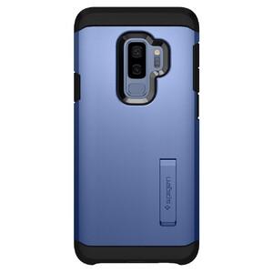 Купить Противоударный чехол Spigen Tough Armor Coral Blue для Samsung Galaxy S9 Plus