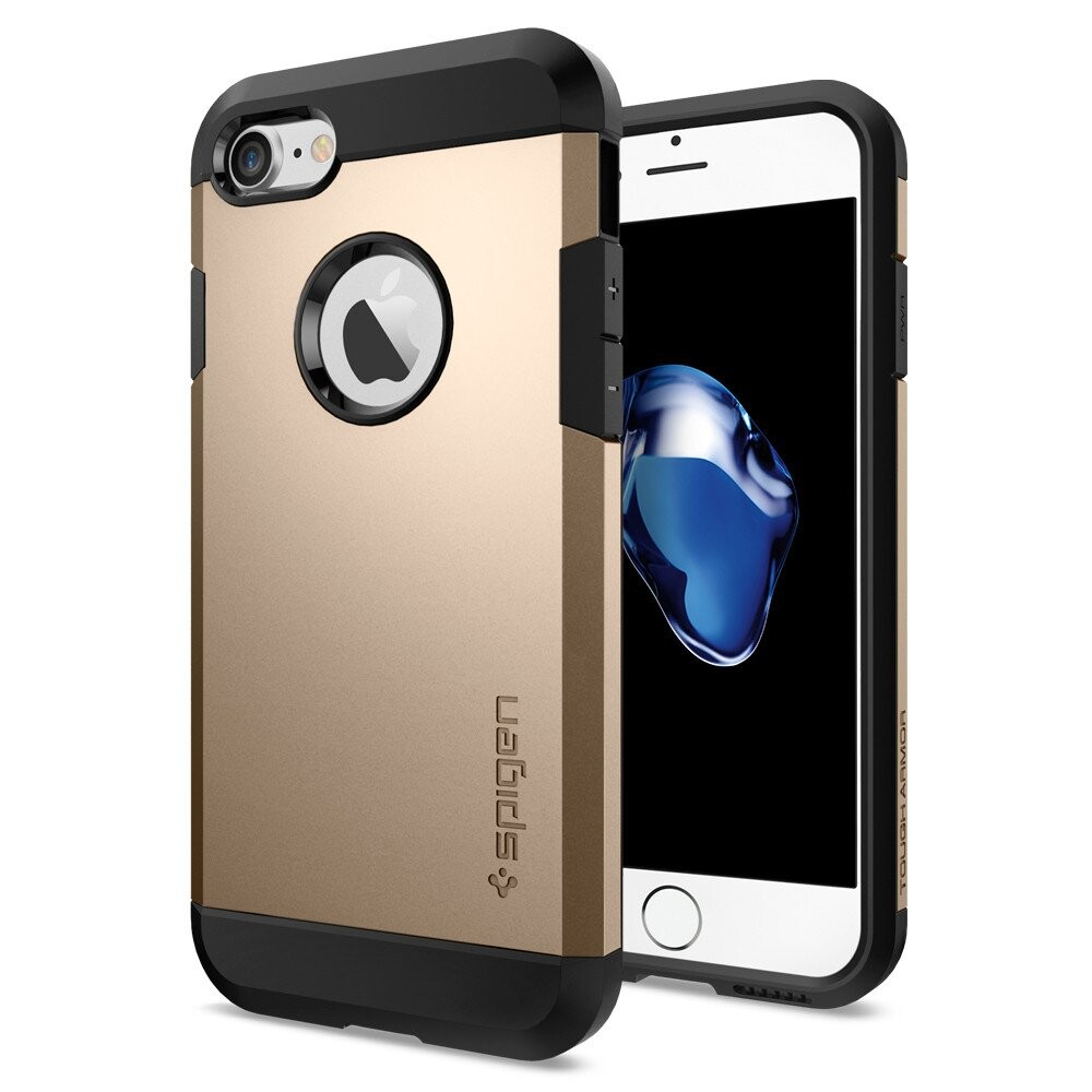 Чехол Spigen Tough Armor Champagne Gold для iPhone 7/8