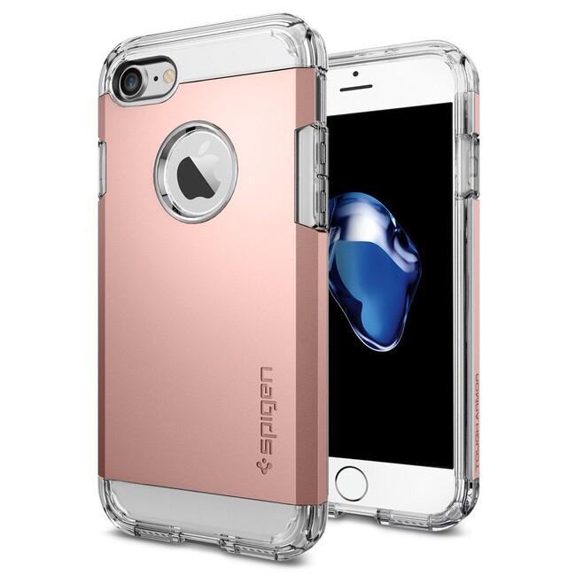 Чехол Spigen Tough Armor Rose Gold для iPhone 7
