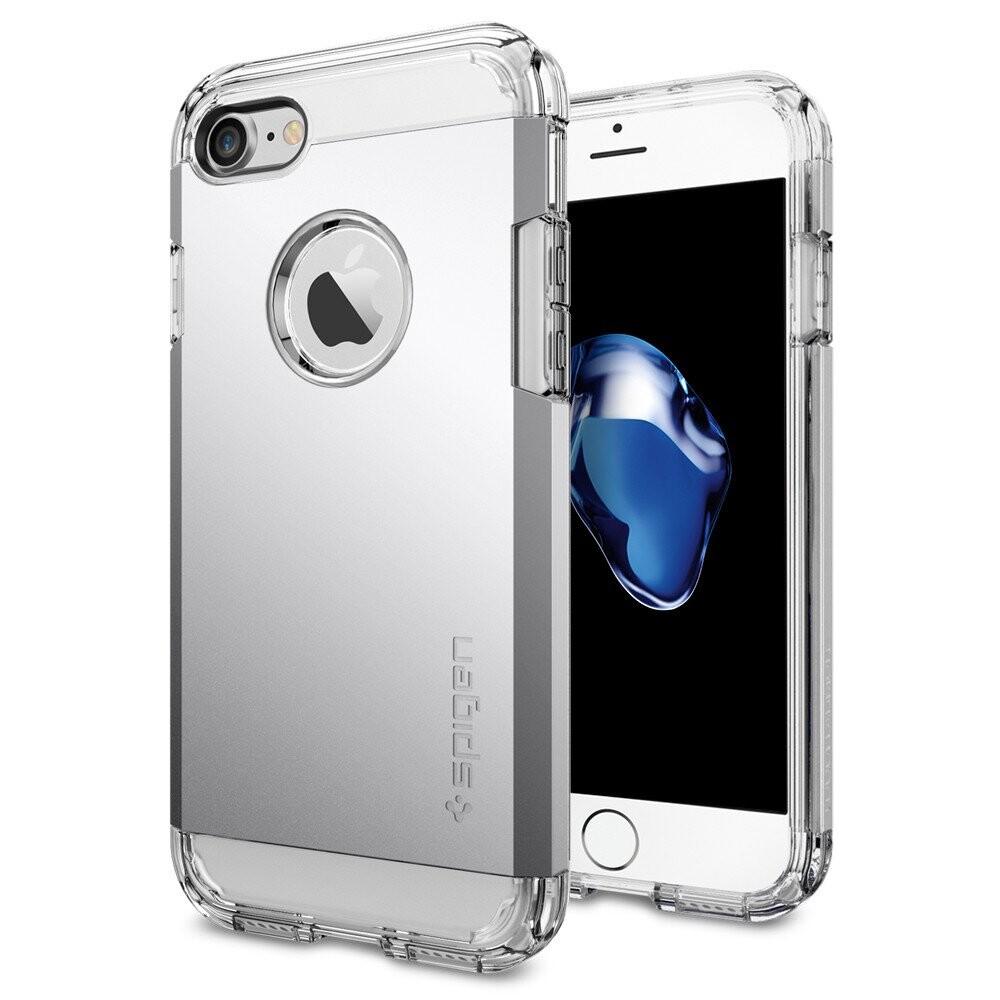 Чехол Spigen Tough Armor Satin Silver для iPhone 7/8