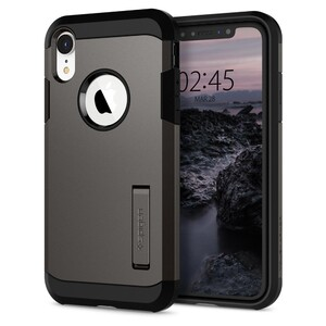 Купить Чехол Spigen Tough Armor Gunmetal для iPhone XR