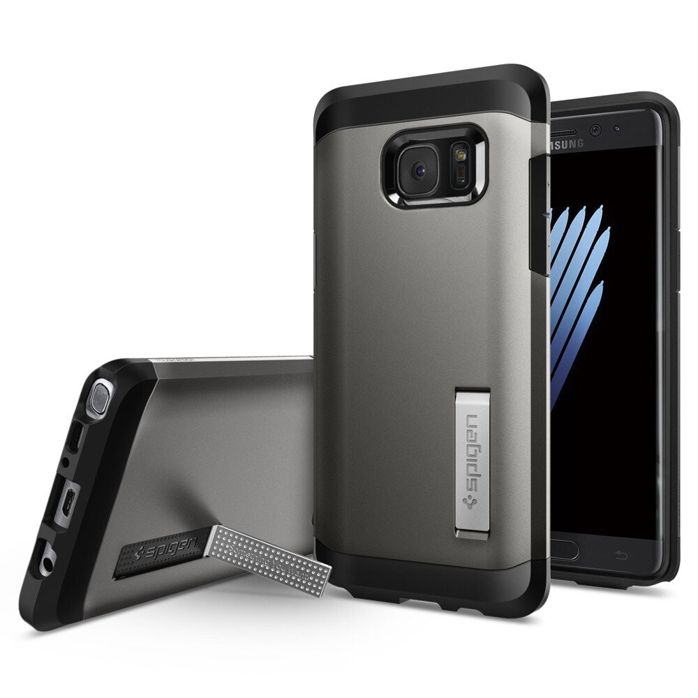 Чехол Spigen Tough Armor Gunmetal для Samsung Galaxy Note 7