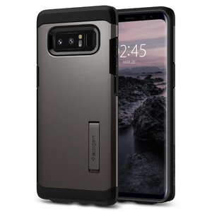 Купить Чехол Spigen Tough Armor Gunmetal для Samsung Galaxy Note 8