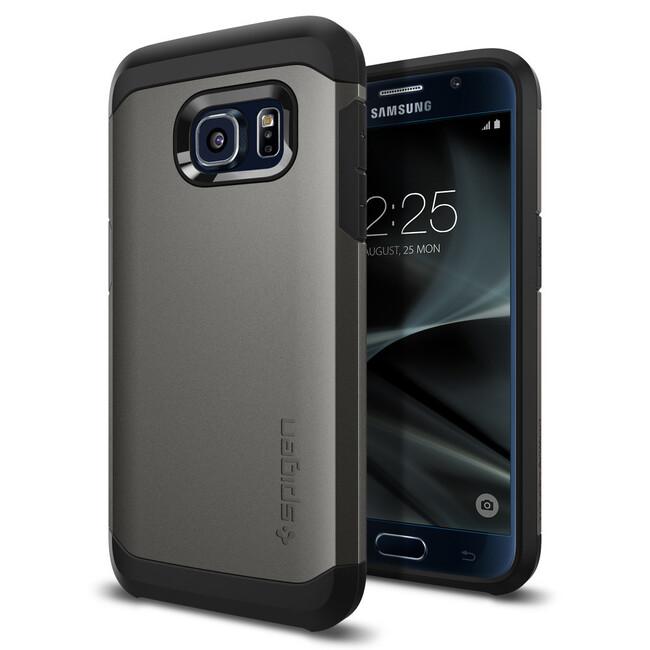 Чехол Spigen Tough Armor Gunmetal для Samsung Galaxy S7
