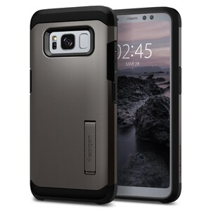 Купить Чехол Spigen Tough Armor Gunmetal для Samsung Galaxy S8 Active