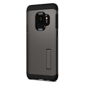Купить Противоударный чехол Spigen Tough Armor Gunmetal для Samsung Galaxy S9