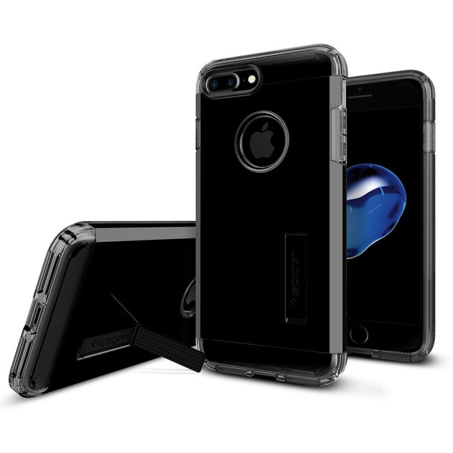 Чехол Spigen Tough Armor Jet Black для iPhone 7 Plus