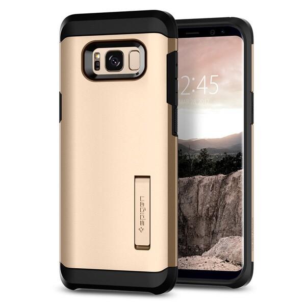Чехол Spigen Tough Armor Gold Maple для Samsung Galaxy S8