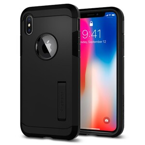 Купить Чехол Spigen Tough Armor Matte Black для iPhone X