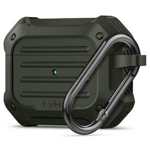 Купить Противоударный чехол Spigen Tough Armor Military Green для AirPods Pro
