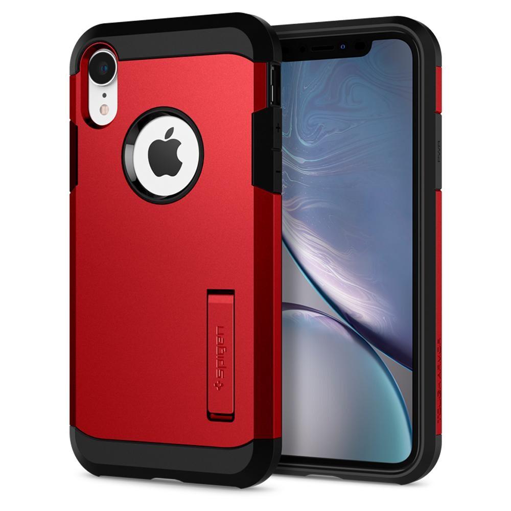 Чехол Spigen Tough Armor Red для iPhone XR