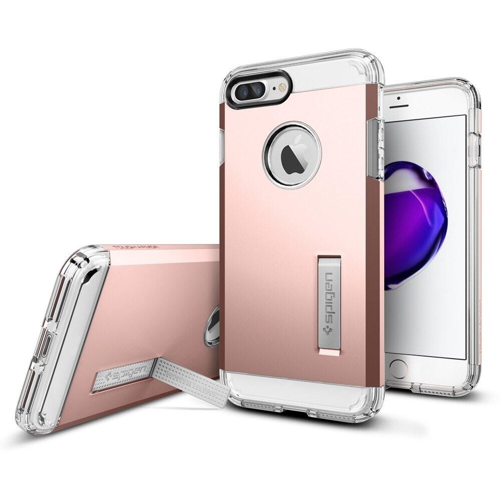 Чехол Spigen Tough Armor Rose Gold для iPhone 7 Plus/8 Plus