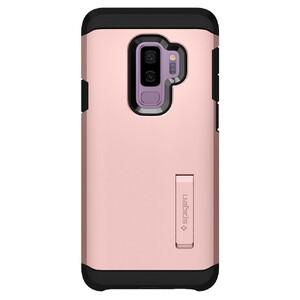 Купить Противоударный чехол Spigen Tough Armor Rose Gold для Samsung Galaxy S9 Plus