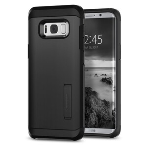 Купить Чехол Spigen Tough Armor Black для Samsung Galaxy S8 Plus