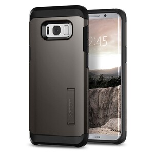 Купить Чехол Spigen Tough Armor Gunmetal для Samsung Galaxy S8 Plus