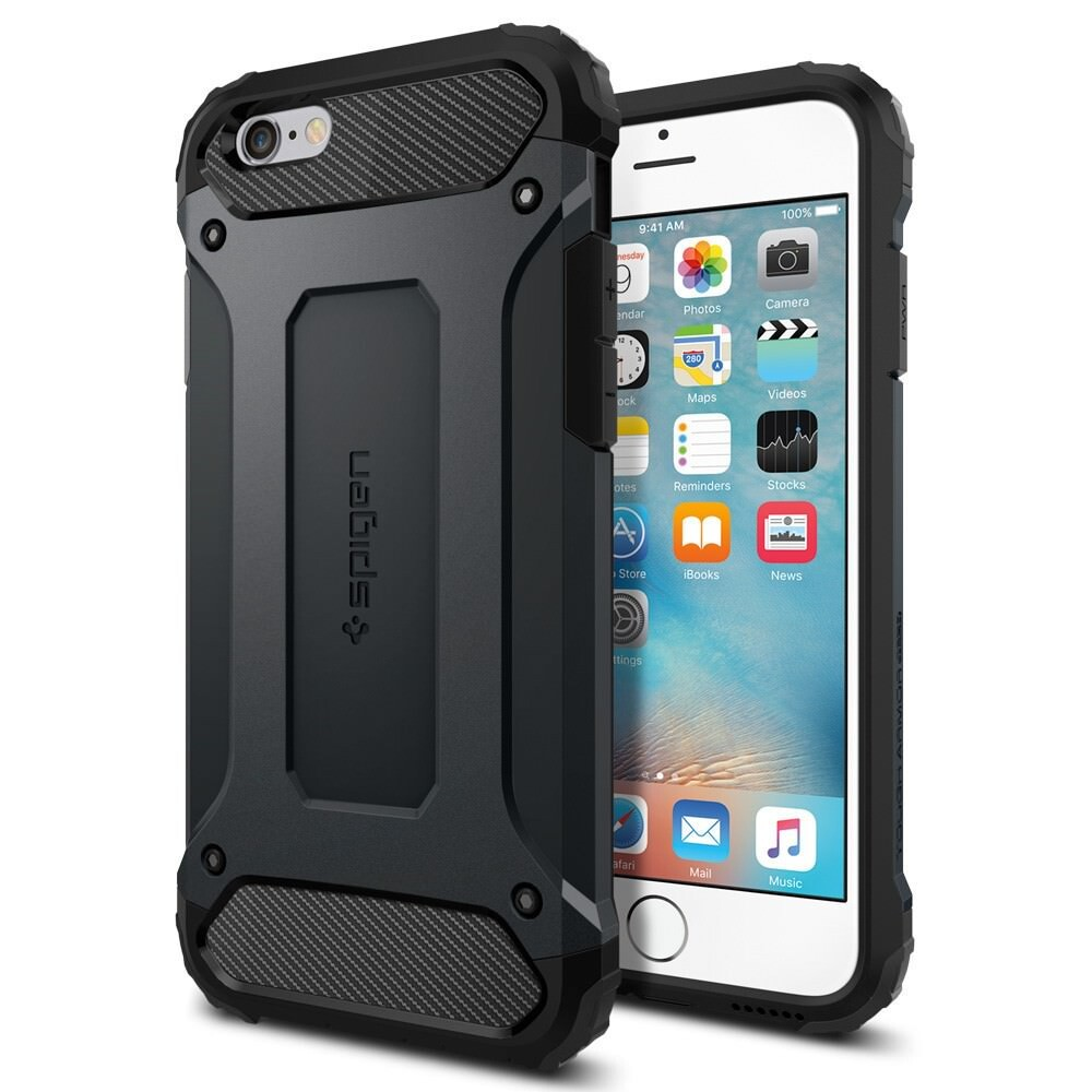 Чехол Spigen Tough Armor Tech Metal Slate для iPhone 6/6s