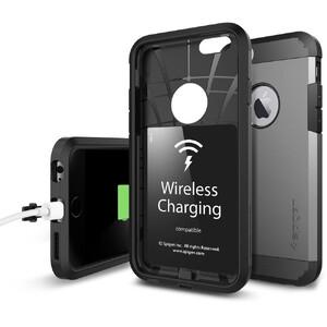Купить Чехол с беспроводной зарядкой Spigen Tough Armor Volt для iPhone 6/6s