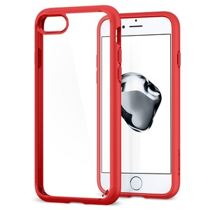 Купить Чехол Spigen Ultra Hybrid 2 Red для iPhone 7/8