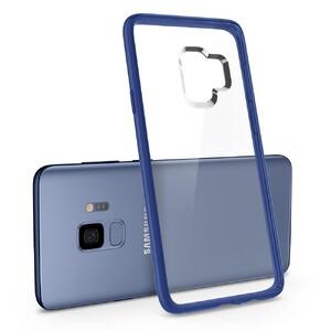 Купить Чехол Spigen Ultra Hybrid Coral Blue для Samsung Galaxy S9