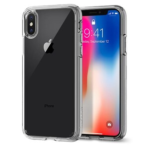 Купить Чехол Spigen Ultra Hybrid Crystal Clear для iPhone X