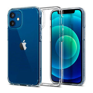 Купить Прозрачный защитный чехол Spigen Ultra Hybrid Crystal Clear для iPhone 12 mini