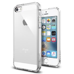 Купить Чехол Spigen Ultra Hybrid Crystal Clear для iPhone SE/5S/5