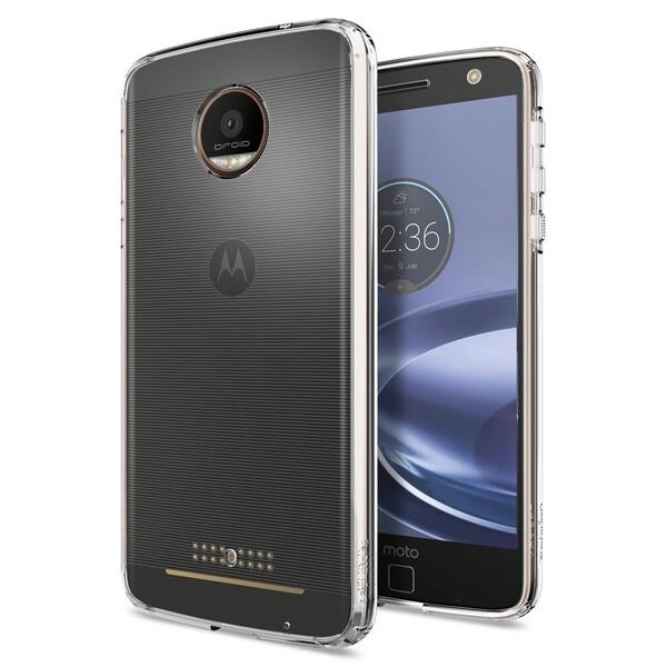 Чехол Spigen Ultra Hybrid Crystal Clear для Motorola Moto Z Force