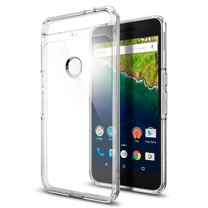 Купить Чехол Spigen Ultra Hybrid Crystal Clear для Huawei Nexus 6P