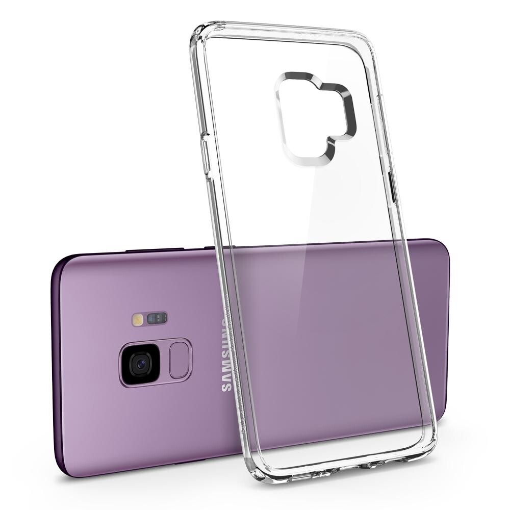 Чехол Spigen Ultra Hybrid Crystal Clear для Samsung Galaxy S9