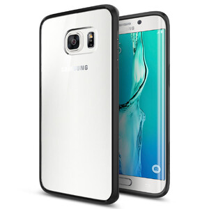 Купить Чехол Spigen Ultra Hybrid Black для Samsung Galaxy S6 Edge+
