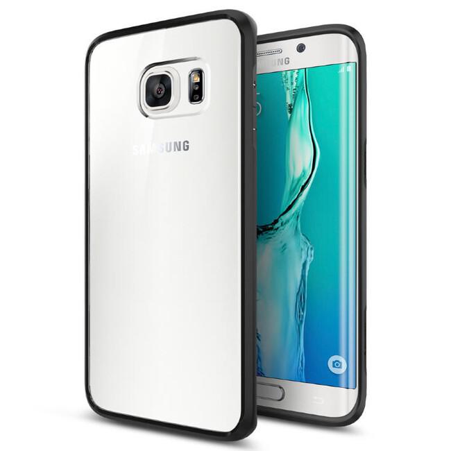 Чехол Spigen Ultra Hybrid Black для Samsung Galaxy S6 Edge+