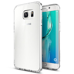 Купить Чехол Spigen Ultra Hybrid Crystal Clear для Samsung Galaxy S6 Edge+
