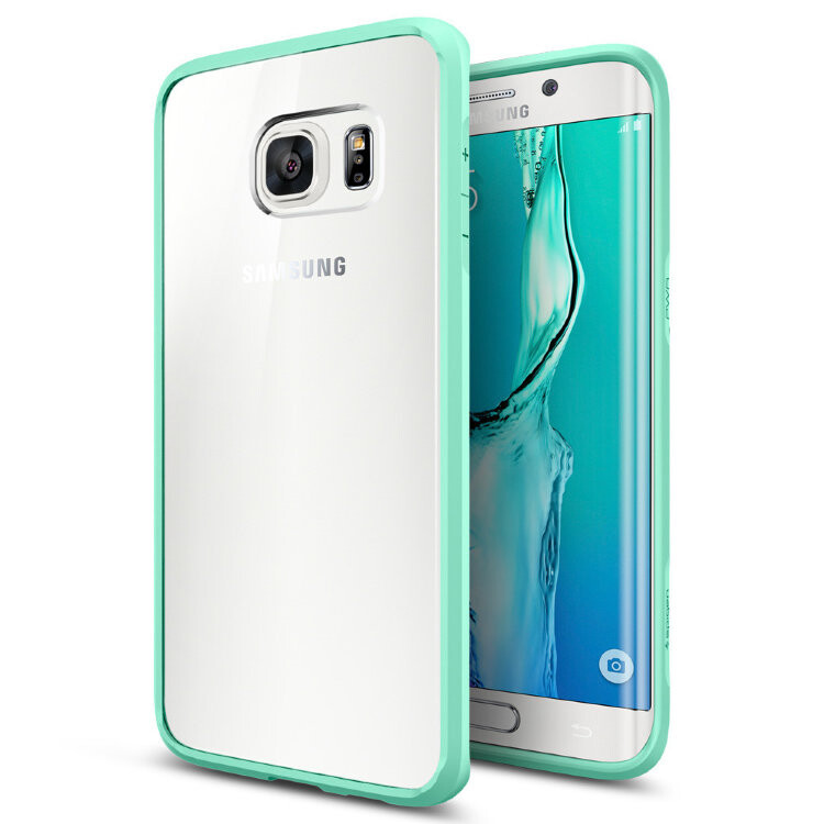 Чехол Spigen Ultra Hybrid Mint для Samsung Galaxy S6 Edge+
