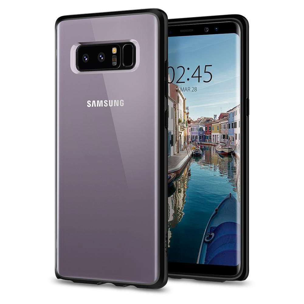 Чехол Spigen Ultra Hybrid Matte Black для Samsung Galaxy Note 8