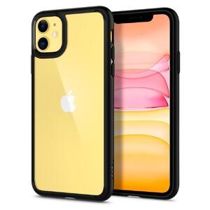 Купить Чехол Spigen Ultra Hybrid Matte Black для iPhone 11