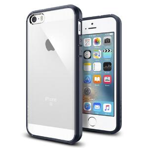 Купить Чехол Spigen Ultra Hybrid Metal Slate для iPhone SE/5S/5