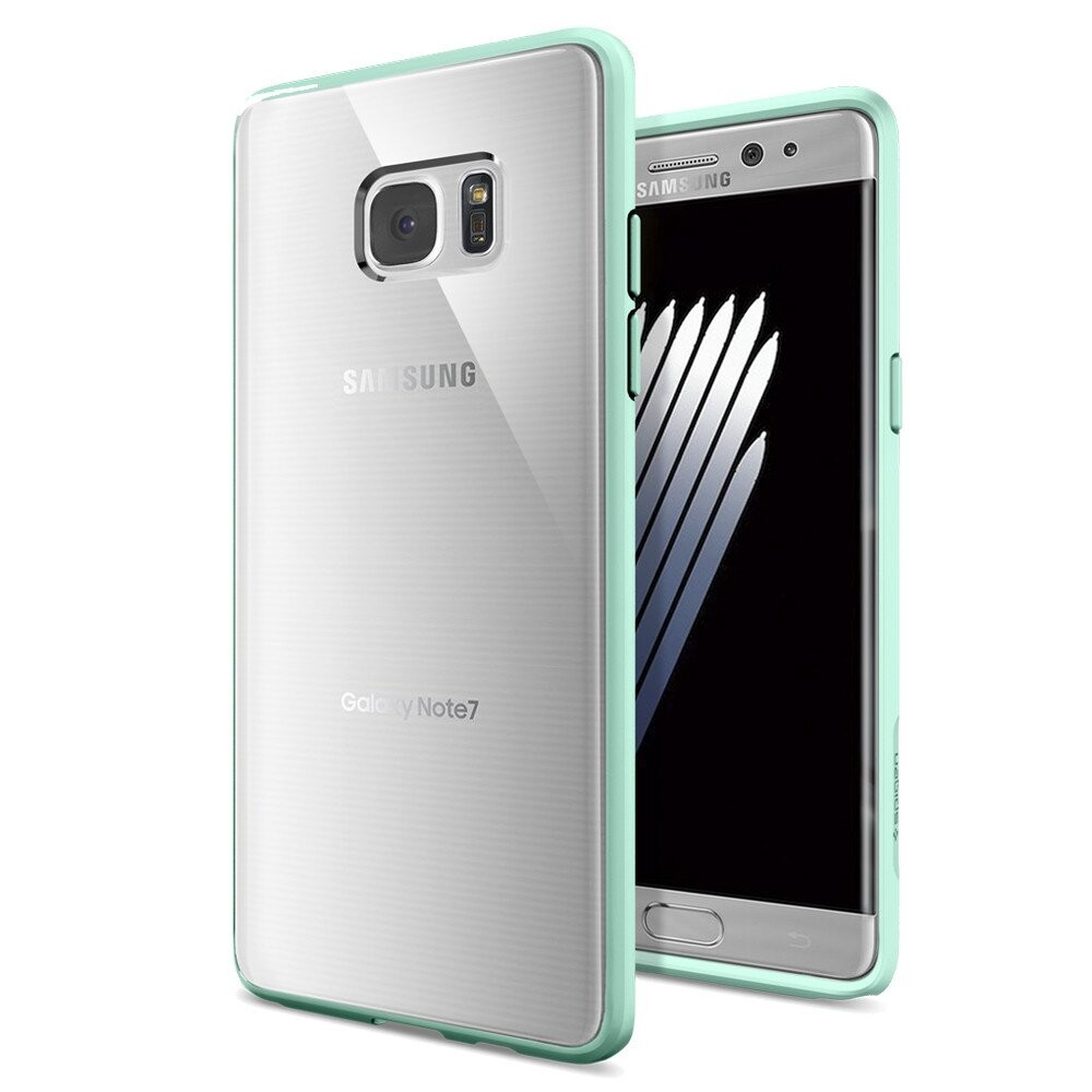 Чехол Spigen Ultra Hybrid Mint для Samsung Galaxy Note 7