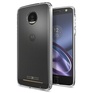 Купить Чехол Spigen Ultra Hybrid Crystal Clear для Motorola Moto Z Droid
