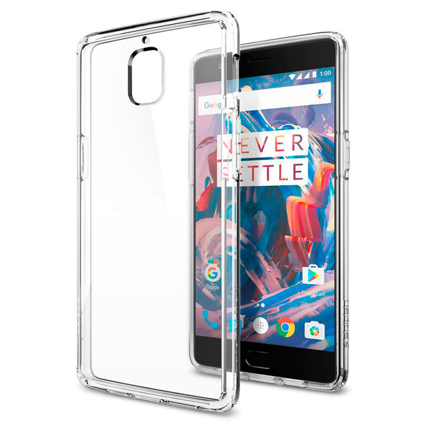 Чехол Spigen Ultra Hybrid Crystal Clear для OnePlus 3   3T
