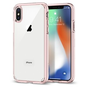 Купить Чехол Spigen Ultra Hybrid Rose Crystal для iPhone X/XS