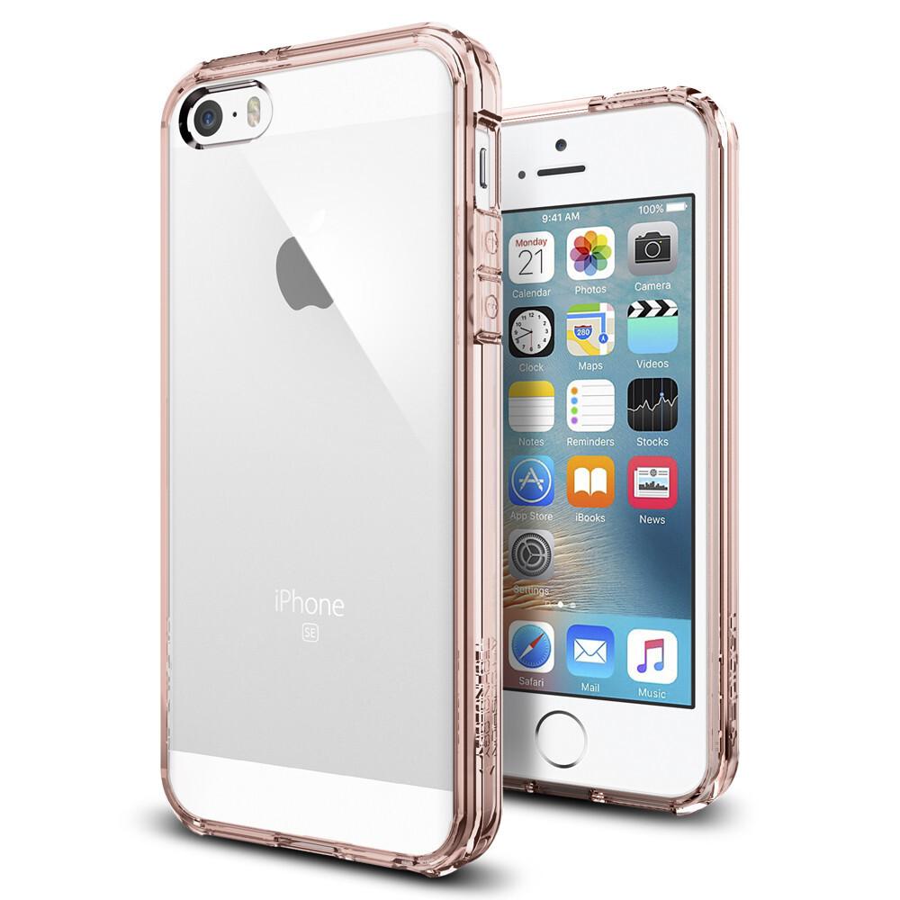 Чехол Spigen Ultra Hybrid Rose Crystal для iPhone SE/5S/5
