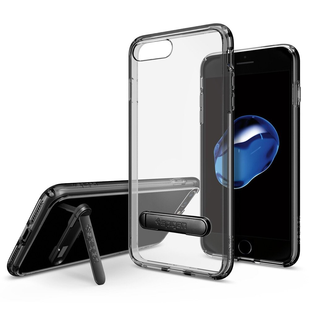 Чехол Spigen Ultra Hybrid S Jet Black для iPhone 7 Plus/8 Plus