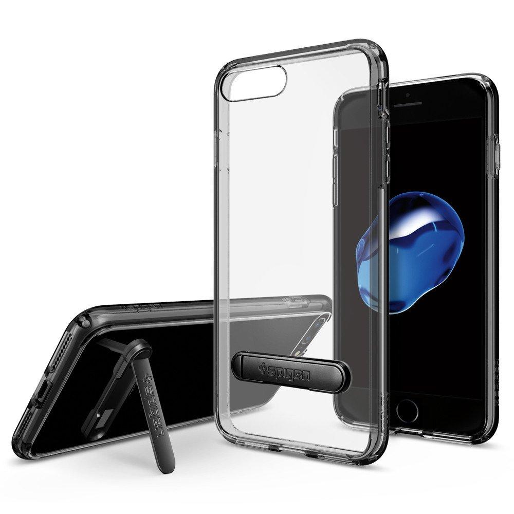 Купить Чехол Spigen Ultra Hybrid S Jet Black для iPhone 7 Plus | 8 Plus (Витринный образец)