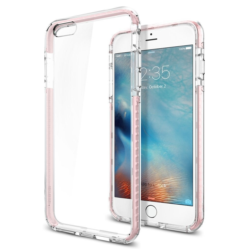 Чехол Spigen Ultra Hybrid TECH Crystal Rose для iPhone 6 Plus/6s Plus