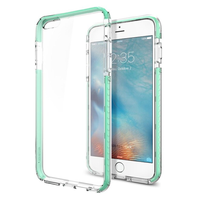 Чехол Spigen Ultra Hybrid TECH Crystal Mint для iPhone 6/6s Plus