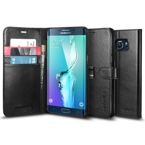 Купить Чехол Spigen Wallet S для Samsung Galaxy S6 Edge+